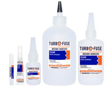 Cianoacrilatos de metilo para unión de metales Turbo Fuse