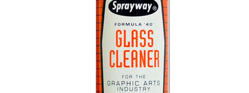 Limpia cristales para artes gráficas